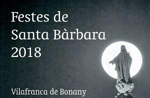 Fiestas de Santa Bárbara en Vilafranca