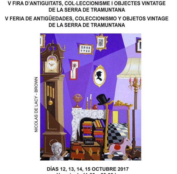"""Feria de Antigüedades, coleccionismo y objetos vintatge """"Serra de Tramuntana"""""""