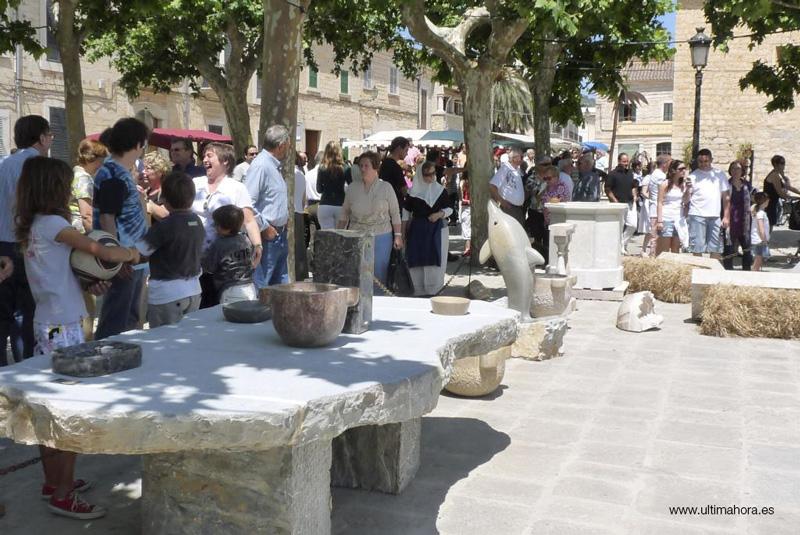 XIV Feria de la piedra y la artesanía de Binissalem