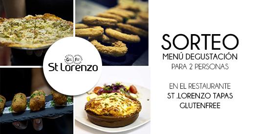 Menú degustació para 2 personas en  St .Lorenzo Tapas Glutenfree